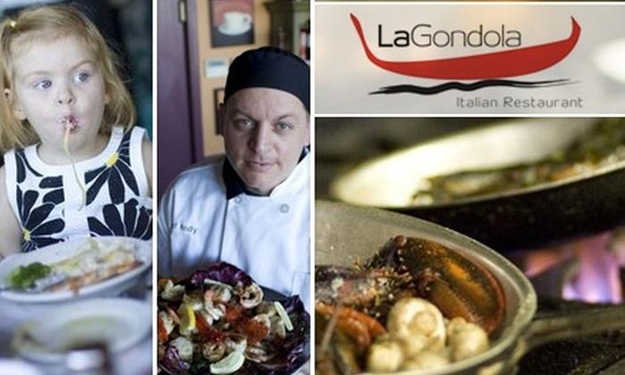 La Gondola Italian Restaurant - Lakeview: $15 for $30 Worth of Italian Cuisine and Drinks at La Gondola Italian Restaurant