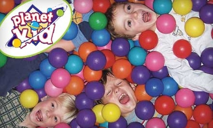 Planet Kid - Boise City: $30 for a 10-Visit Frequent Player Card at Planet Kid ($60 Value)