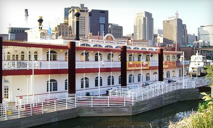 "Flying Pig Productions' ""Escanaba in da Moonlight"" - West St. Paul: $28 for Outing for Two to ""Escanaba in da Moonlight"" on Padelford Riverboats' Centennial Showboat in St. Paul (Up to $56 Value)"