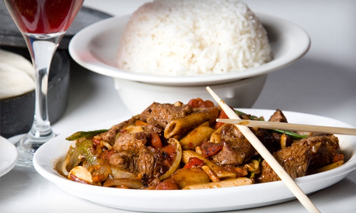Mongolian Grill - Tecumseh: $10 for $20 Worth of Mongolian Stir-Fry at Mongolian Grill