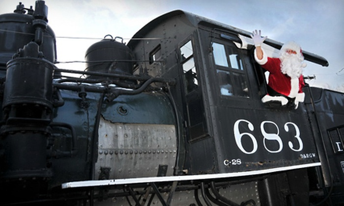 Colorado Railroad Museum - Fairmount: $12 for a Family Pass to the Santa Claus Special Steam-Up Event at Colorado Railroad Museum in Golden ($25 Value)