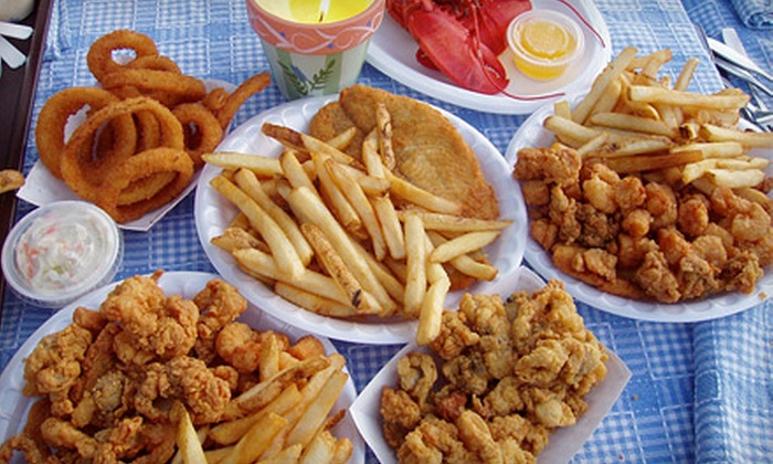 Cove Clam Shack and Cafe - Stonington: $10 for $20 Worth of Seafood at Cove Clam Shack and Cafe in Mystic