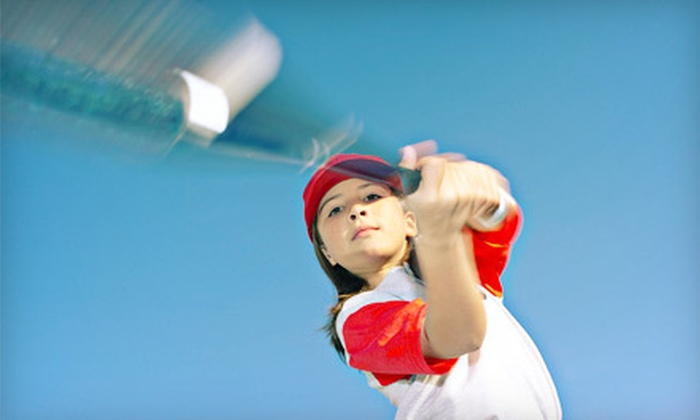Bases Loaded - Houston: 30- or 60-Minute Batting-Cage Rental with $10 Snack Credit at Bases Loaded (Up to 57% Off)