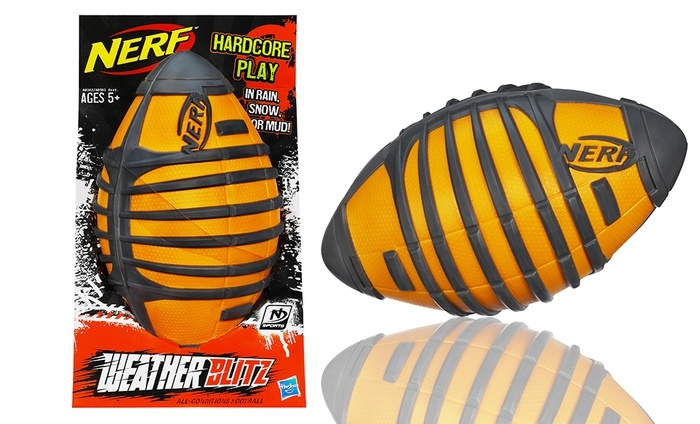 Nerf Sports Weather Blitz All-Conditions Football: Nerf Sports Weather Blitz All-Conditions Football. Free Returns.