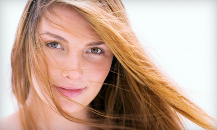 Salon Alexander - Newington: Haircut and Style or Base Color at Salon Alexander (Up to 52% Off)