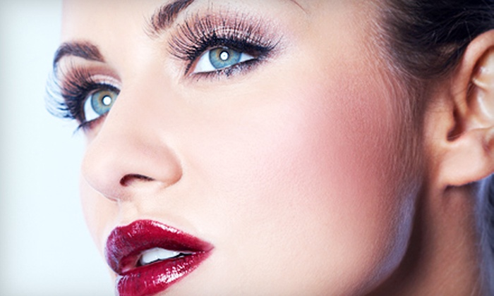 Hidden Beauty Makeup Artist - Maplewood: One Full Set of Eyelash Extensions with Optional Airbrush Makeover at Hidden Beauty Makeup Artist (Up to 51% Off)