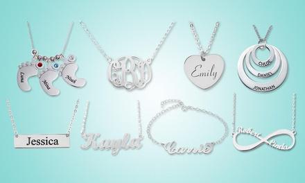 Colliers ou bracelets personnalisables avec gravure de prénom à 16,99 € avec Justyling