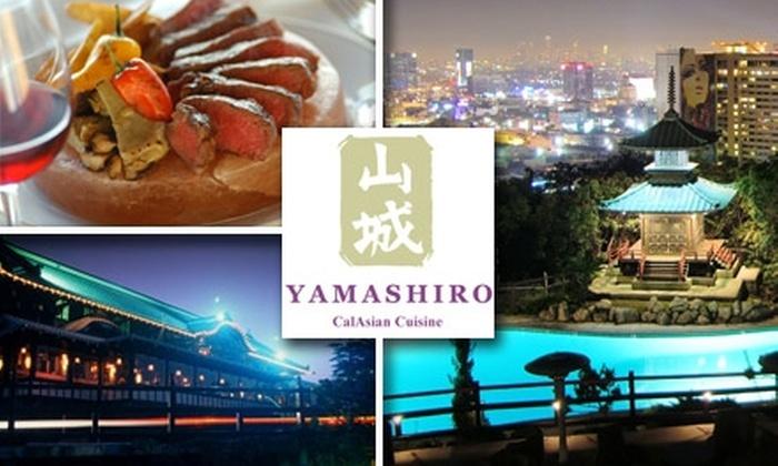 Yamashiro - Hollywood Hills: $40 for $80 Worth of Asian Cuisine and Drinks at Yamashiro