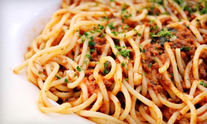 Savio's Restaurant and Bar - Cameron,Weyanoke,Van Dorn: $15 for $30 Worth of Italian Fare at Savio's Restaurant and Bar in Alexandria