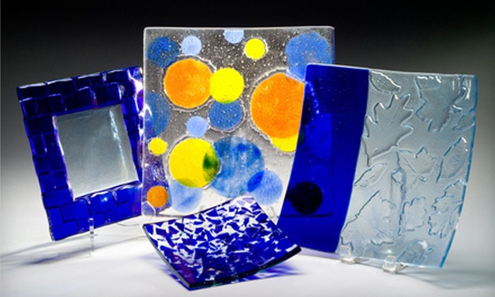 The Washington Glass School - Mount Rainier: Bowl-Fusing Class for One or Two at The Washington Glass School (Up to 52% Off)