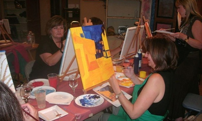 Art, Wine and Tango - Cypress: BYOB Art Class for One or Two at Art, Wine and Tango (Up to 54% Off)