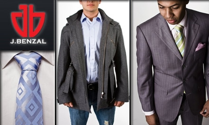 J. Benzal - Chatham-arch: $55 for $120 Worth of Men's Apparel at J. Benzal