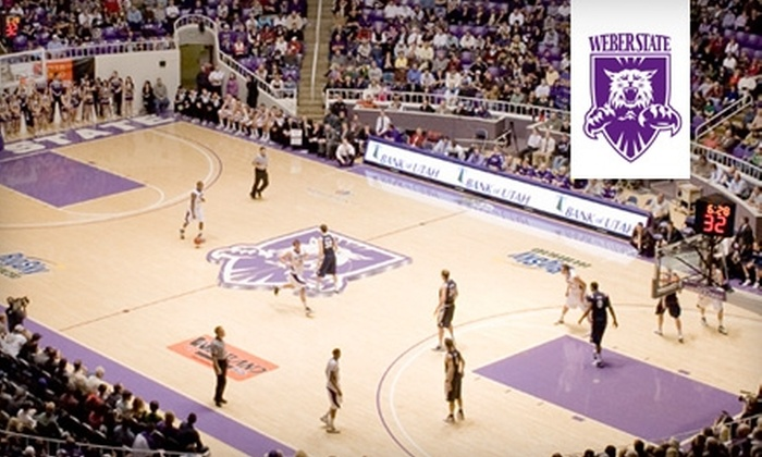 Weber State University Men's Basketball - Ogden: $20 for Five Tickets to a Weber State University Men's Basketball Home Game (Up to $50 Value). Choice of One of Five Games.