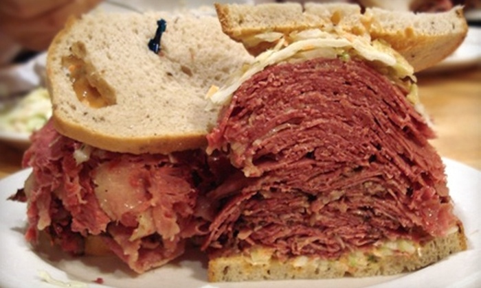 Sarge's Delicatessen Restaurant - Murray Hill: $10 for $20 Worth of Classic Deli Fare and Drinks at Sarge's Delicatessen Restaurant