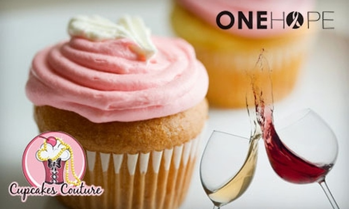 Cupcakes Couture - Manhattan Beach: $15 for Two Tickets to Cupcake and Wine Tasting at Cupcakes Couture in Manhattan Beach ($30 Value)