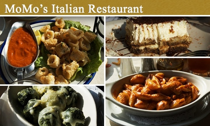MoMo's Pasta - Addison: $10 for $20 of Authentic Italian Cuisine at MoMo's Pasta
