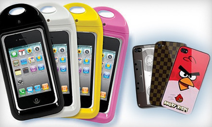 Exclusive Skins: Skins or Waterproof Covers for iPhone 4 from Exclusive Skins (Up to 57%)