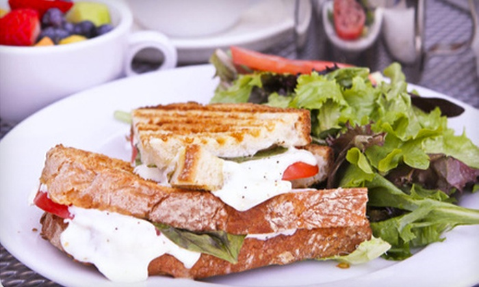 Café St. Tropez - Carmel: French-Inspired Dinner for Two or Four or Breakfast for Two at Café St. Tropez in Carmel (Up to 58% Off)