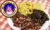 The Barbeque Joint - North Charleston: $5 for $10 Worth of Barbecue and Drinks at The Barbeque Joint in North Charleston