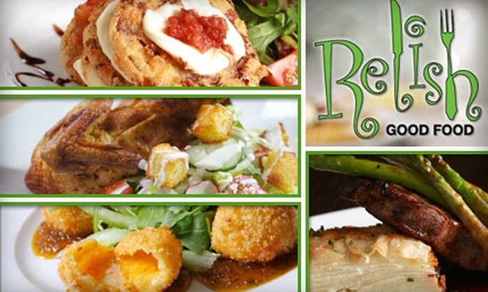 Relish Restaurant - Atlanta: $25 for $50 Worth of New Southern Cuisine and Drinks Plus Wine Tasting at Relish Restaurant