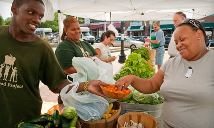 The Food Project: Donate $10 to Help The Food Project Provide Fresh, Healthy Produce to Families in Need