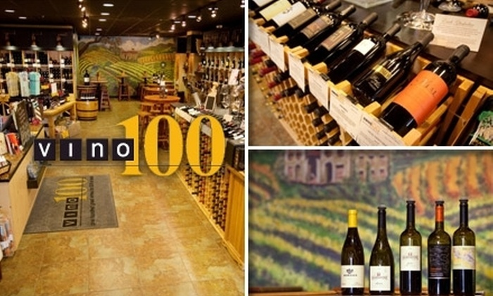 Vino 100 - Woodward Park: $10 for $20 Worth of Wine, Beer, and Savories at Vino 100