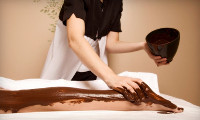 Elixir Organic Spa - Toronto: $89 for a Chocolate-Mint Body-Wrap  and Massage Package with Facial and Eye Treatment at Elixir Organic Spa ($213 Value)