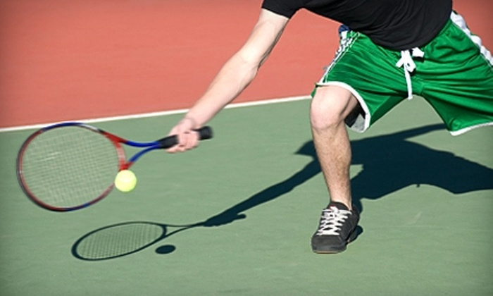 Elite Squad Tennis Club - Lionsgate Marketplace: $45 for 10 Adult Tennis Classes and One Private Lesson at Elite Squad Tennis Club in Overland Park (Up to $385 Value)