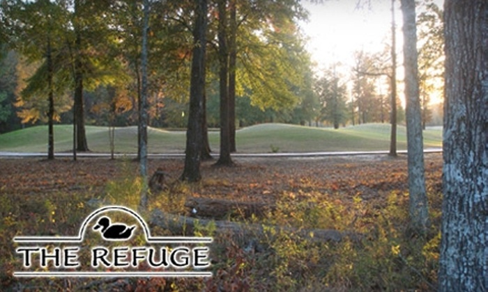 The Refuge Golf Course - Flowood: $45 for 18 Holes of Golf for Two Plus a Cart at Refuge Golf Course (Up to $96 Value)
