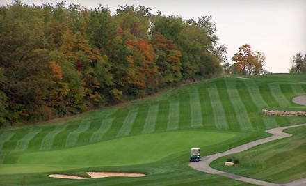 9-Hole Golf Package for 2 (up to a $72 value) - The Club at Blackthorne in Jeanette