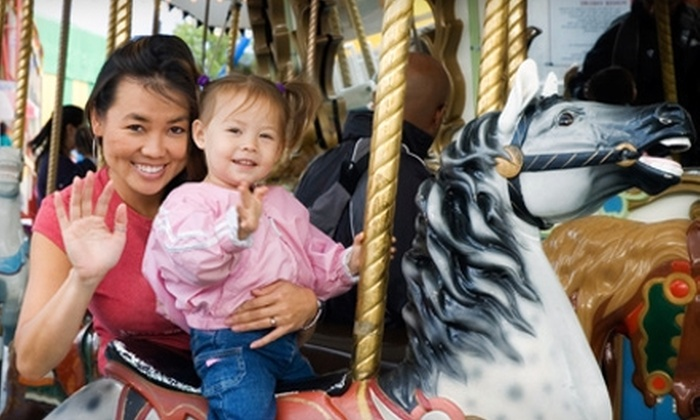 Barrie Waterfront Festival Midway  - Barrie: $25 for a One All-Day VIP Pass ($50 Value) or $90 for a Family VIP Pass ($180 Value) to the Barrie Waterfront Festival Midway