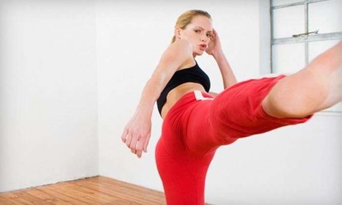 Blackhawk Fitness - Downtown Wichita: $25 for Four-Week Spartan-X Cardio Fitness Program at Blackhawk Fitness ($55 Value)