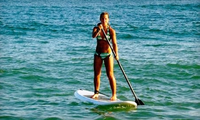 Long Island Stand-Up Paddle Boarding Co. - East Islip: Standup-Paddleboarding Class for One or Two from Long Island Stand-Up Paddle Boarding Co. in East Islip (Up to 57% Off)