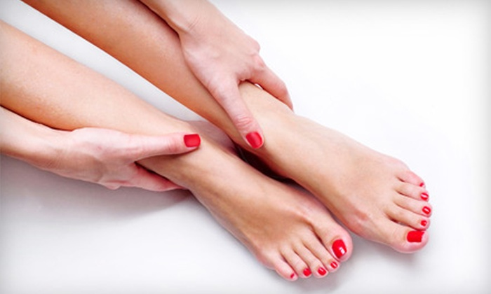 Millennium Medi Spa - West Point Pepperell Square: $37 for a Spa Manicure and Signature Spa Pedicure at Millennium Medi Spa in New Braunfels ($75 Value)
