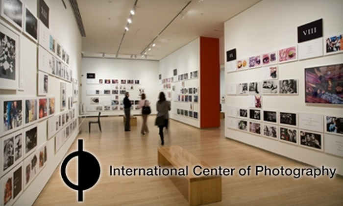 International Center of Photography - Theater District - Times Square: Admission or Membership to the International Center of Photography. Choose From Three Options.
