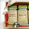 Barnie's Coffee & Tea Company / Barnie's Coffee Kitchen: $45 for 3 Pounds of Premium Coffee and Stainless-Steel Scoop from Barnie's Coffee & Tea Company ($102 Value)