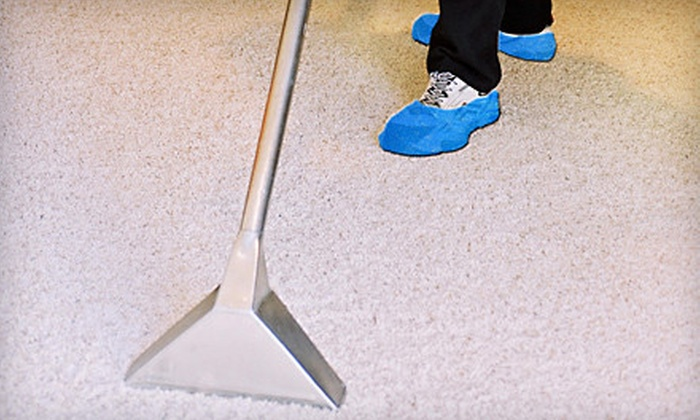 Sani-Tech Services - Victoria: Carpet or Upholstery Cleaning from Sani-Tech Services (Up to 58% Off). Three Options Available.