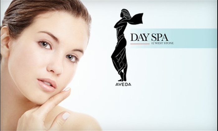 Day Spa - Viola Street Area: $15 Haircut (Up to $30 Value) or $32 Mani-Pedi ($65 Value) at Day Spa