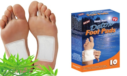 Bamboo and Herbal Kinoki Foot Detox Patches