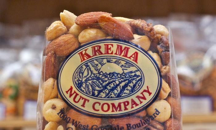 Krema Nut Company - Grandview Heights: $11 for $20 Worth of Nuts and Snacks at Krema Nut Company
