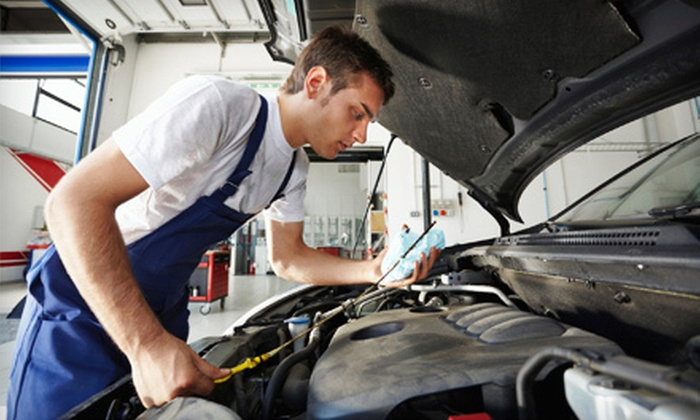 Top10Motors - Sorrento Valley: One Oil-Change Package for a European or Non-European Car at Top10Motors (Up to 51% Off)