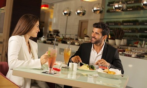 Capital Centre Arjaan by Rotana: Buffet with Drinks for Child or Up to Two Adults, or a Business Lunch or Dinner at Capital Center Arjaan (Up to 59% Off)