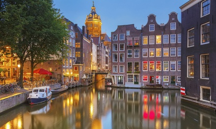 ✈ Amsterdam: 2 to 4 Nights at Choice of Hotels with Return Flights*