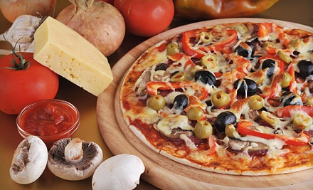 Pizza Meal for Two (up to $26.60 total value) - Goomba's Pizzeria in Helotes