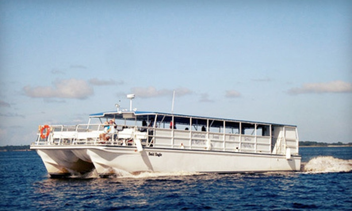 Amelia River Cruises - Northside: $26 for a Two-Hour Eco-Shrimping Tour for Two from Amelia River Cruises in Fernandina Beach ($52 Value)