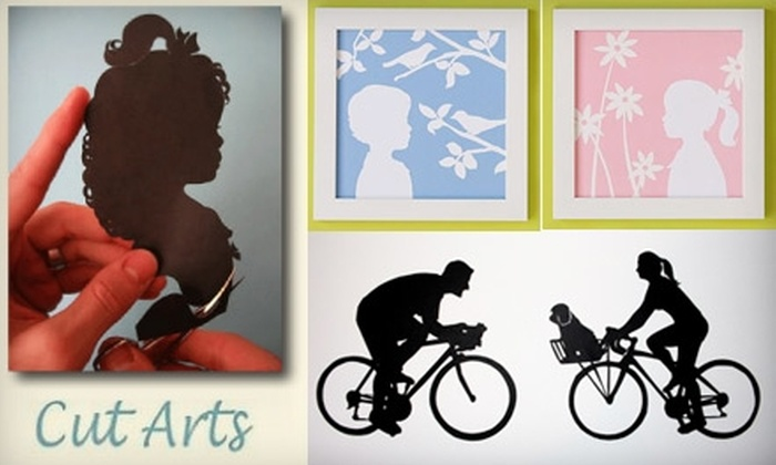Cut Arts - Los Angeles: $12 for $25 Worth of Silhouette Art from Cut Arts