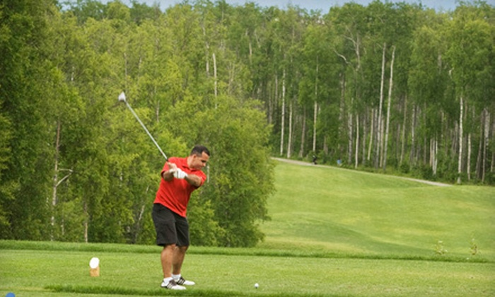 Settlers Bay Golf Course - Matanuska-Susitna: $58 for 18 Holes of Golf for Two, Cart, and American Fare at Settlers Bay Golf Course in Wasilla (Up to $117 Value)