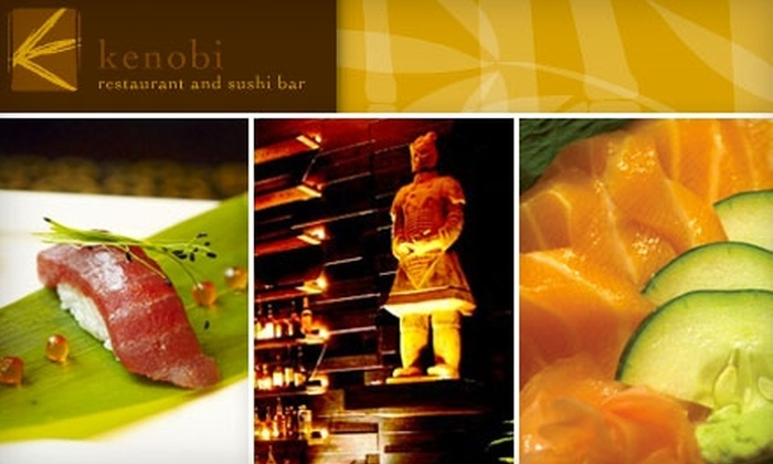 Kenobi Restaurant & Sushi Bar - Austin: $20 for $40 Worth of Sushi, Steak, and More at Kenobi Restaurant and Sushi Bar