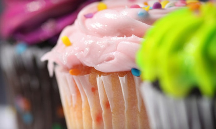 Glass Slipper Cakery - Oviedo Crossing The Market Place: $14 for One-Dozen Mini Cupcakes at Glass Slipper Cakery in Oviedo ($28 Value)