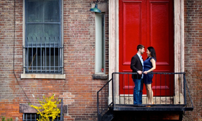 Simply K Studios - Wethersfield: $99 for Three-Hour On-Location Engagement Photo Session and Digital Slideshow from Simply K Studios ($280 Value)